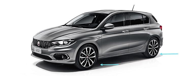 Fiat Egea hatchback - McPherson süspansiyon
