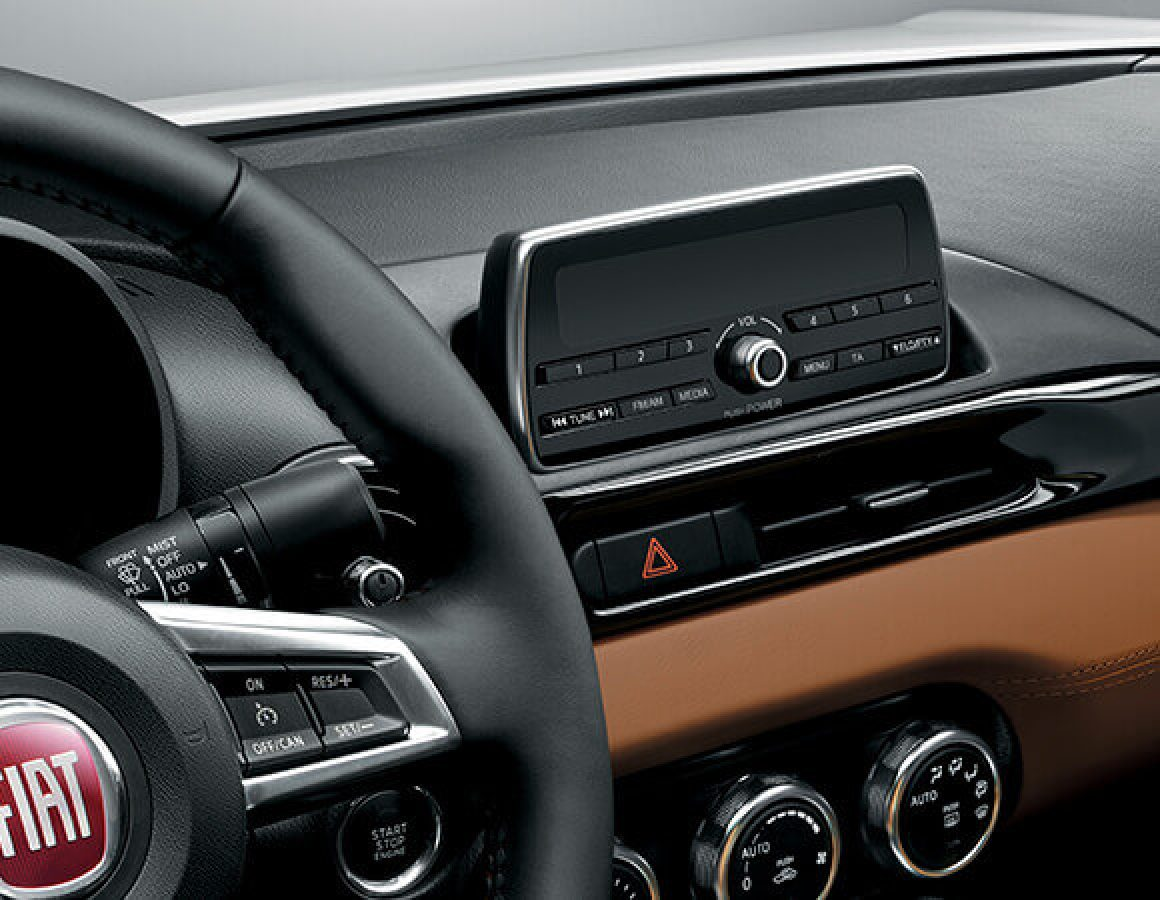 Display Fiat 124 Spider compuer di bordo