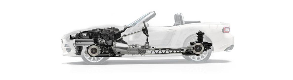 Fiat 124 Spider ağırlığı