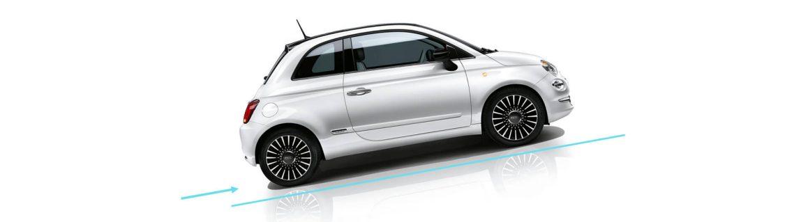 Fiat 500 Yokuş yukarı kalkış asistanı