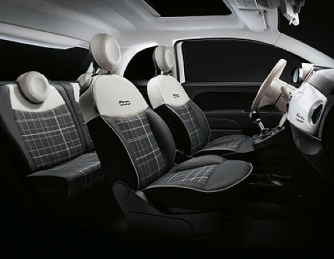 Interni Fiat 500C