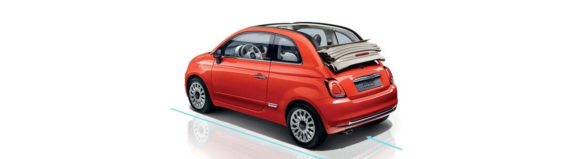 Fiat 500C Yokuş Yukarı Kalkış Asistanı