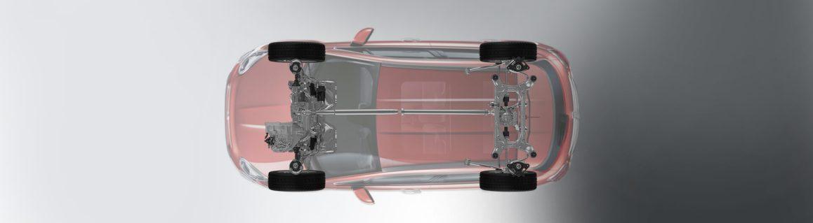 500X Off-Road Tarzı gövde ve süspansiyon sistemi