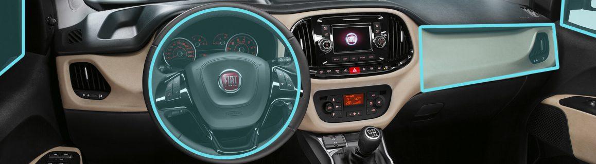 Fiat Doblò safety airbags/ hava yastıkları
