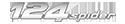 124 Spider logo