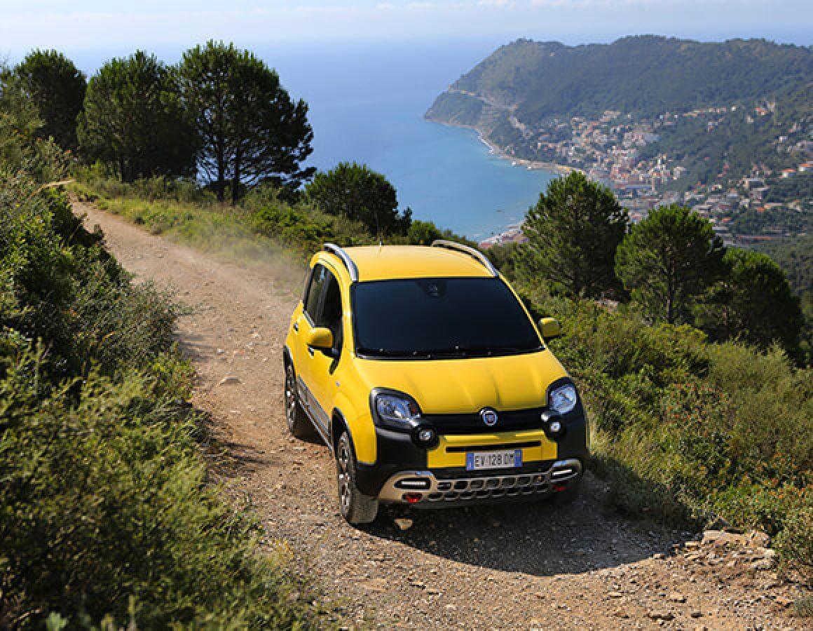 Fiat Panda Cross anteriore